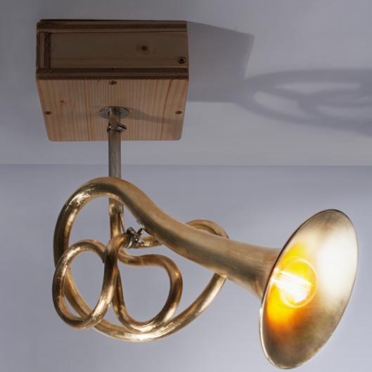 Lampe nach oben